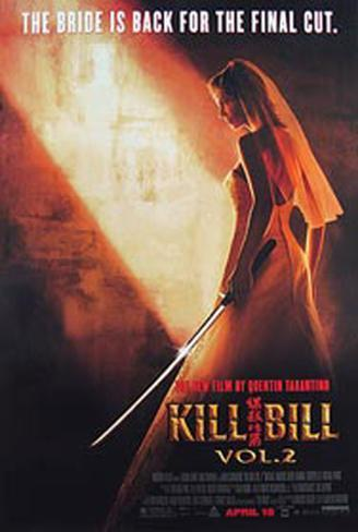 Kill Bill Vol.2 Originalposter