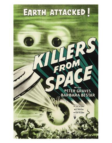 Killers From Space - 1954 Giclée-Druck