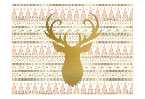 Oh Deer B Kunstdruck