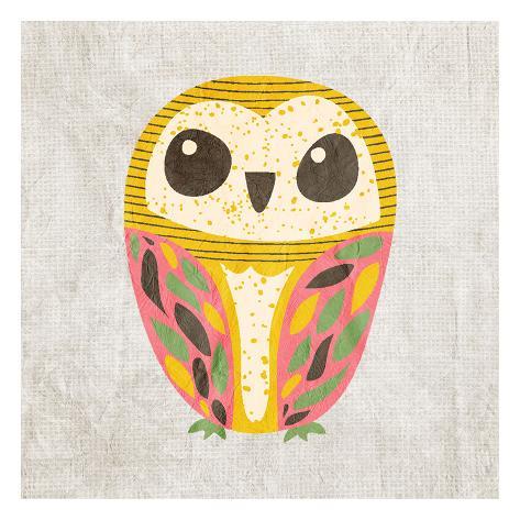 Owl Love 3 Kunstdruck