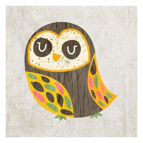 Owl Love 4 Kunstdruck