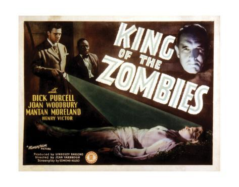 King Of The Zombies - 1941 I Giclée-Druck