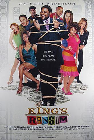 King's Ransom Originalposter