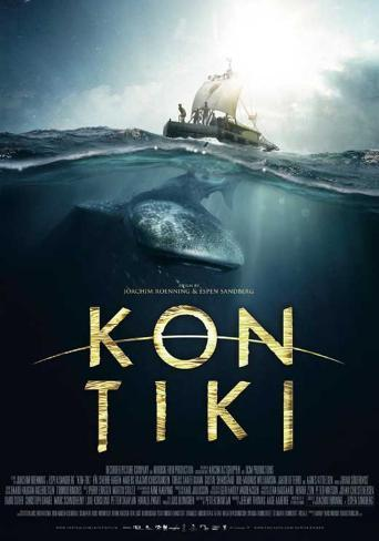 Kon-Tiki Movie Poster Neuheit
