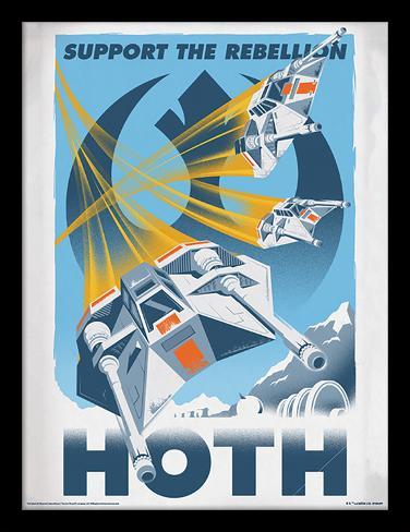 Krieg der Sterne - Hoth Sammlerdruck