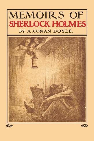 Memoirs of Sherlock Holmes Wandtattoo