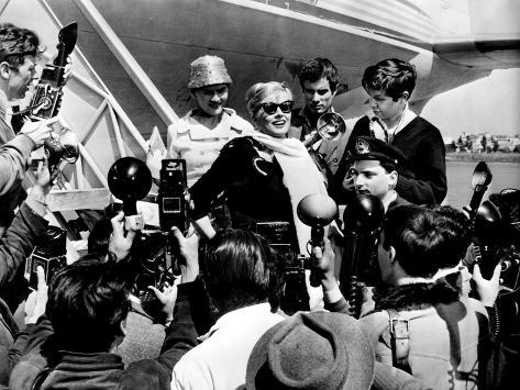 La Dolce Vita, Harriet White, Anita Ekberg, 1960 Foto