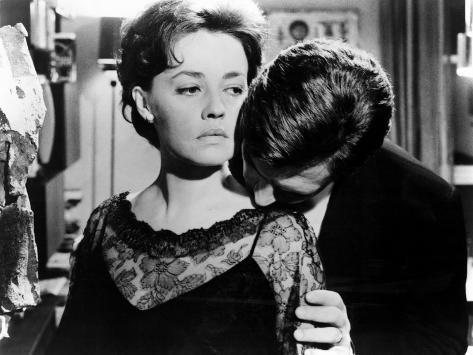 La Notte, Jeanne Moreau, Marcello Mastroianni, 1961 Foto
