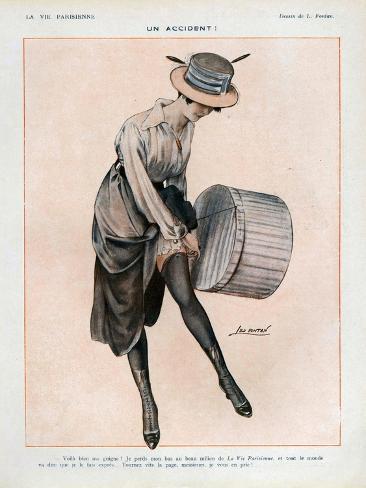 La Vie Parisienne, Magazine Plate, France, 1916 Giclée-Druck