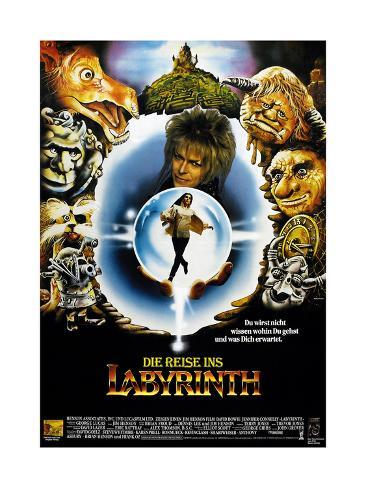 Labyrinth, (AKA Die Reise Ins Labyrinth), 1986 Giclée-Druck