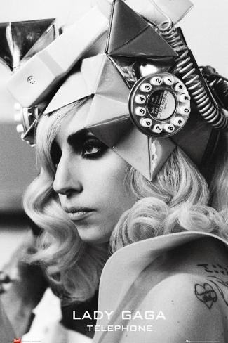 Lady Gaga - Telephone Poster