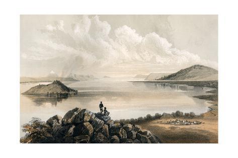Lake Klamath Ca Giclée-Druck