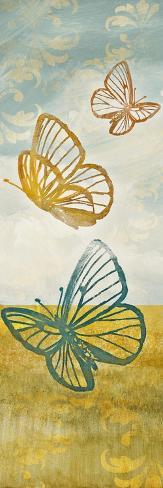 Fluttering Field I Giclée-Premiumdruck