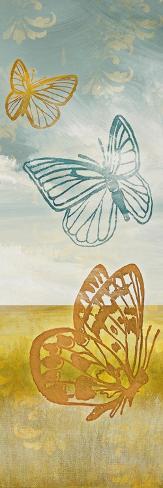 Fluttering Field II Giclée-Premiumdruck