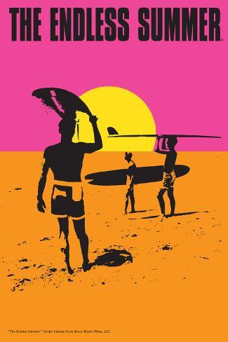 The Endless Summer - Original Movie Poster Kunstdruck