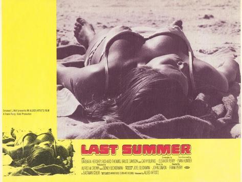 Last Summer, 1969 Kunstdruck