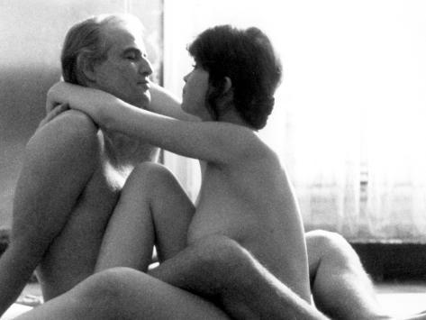 Last Tango In Paris, Marlon Brando, Maria Schneider, 1972 Foto