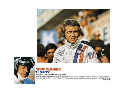 Le Mans, Steve McQueen, 1971 Giclée-Premiumdruck