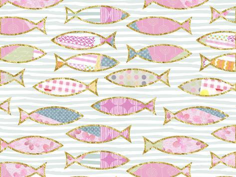 Fancy Fish Kunstdruck