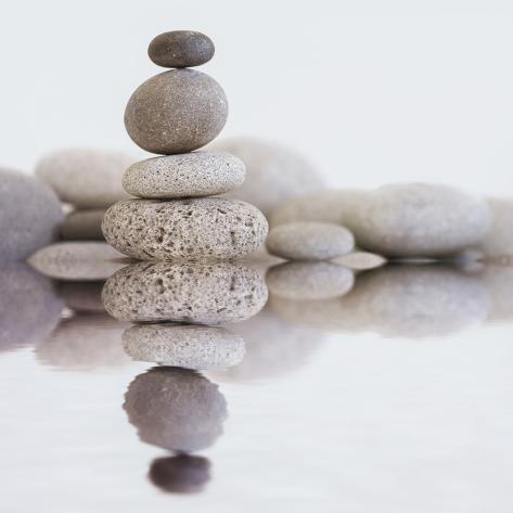 stone cairn water square kunstdrucke von lebens art bei. Black Bedroom Furniture Sets. Home Design Ideas