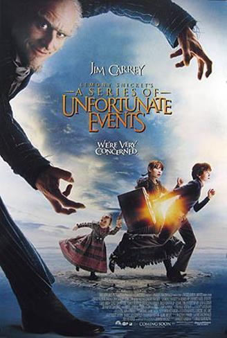 Lemony Snickett's A Series Of Unfortunate Events Originalposter