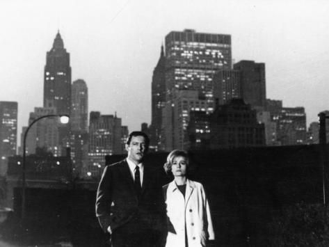 Annie Girardot and Maurice Ronet: Trois Chambres À Manhattan, 1965 Fotografie-Druck