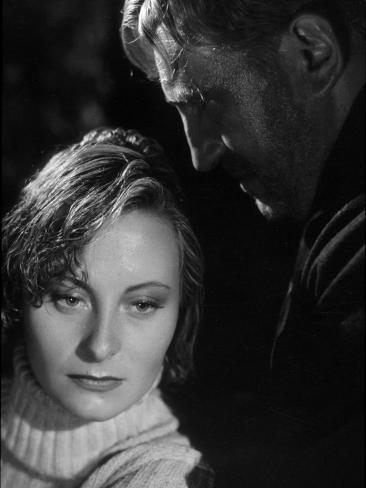 Charles Vanel and Michèle Morgan: La Loi Du Nord, 1939 Fotoprint
