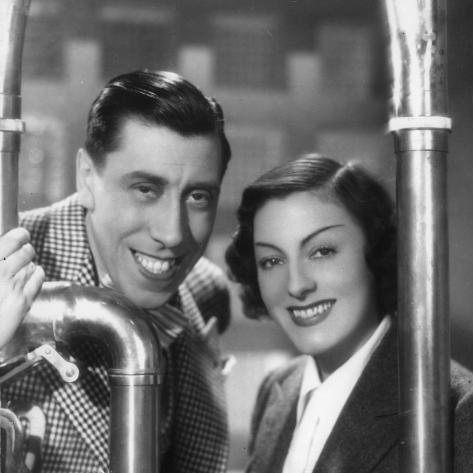Gaby Morlay and Fernandel: Hercule, 1937 Fotoprint
