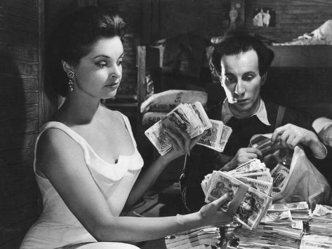 Nadja Tiller: Du Rififi Chez Les Femmes, 1959 Fotografie-Druck