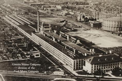 Lincoln motor company division of the ford motor company for Ford motor company detroit mi