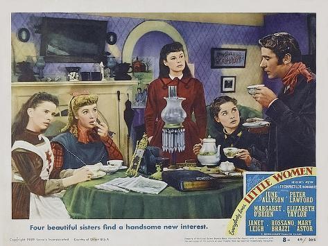 Little Women, 1949 Kunstdruk