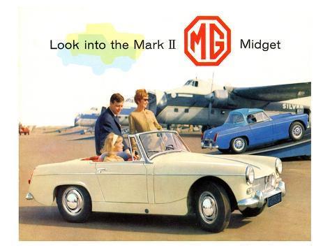 Look into the Mark II Midget Kunstdruck