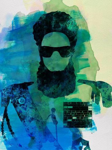 Dictator Watercolor 1 Kunstdruck