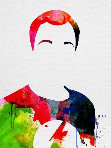 Sheldon Watercolor Kunstdruck