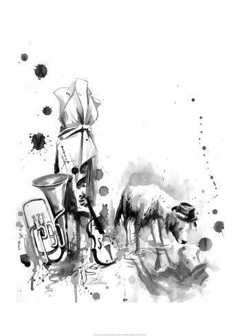 Flea Market Kunstdruck