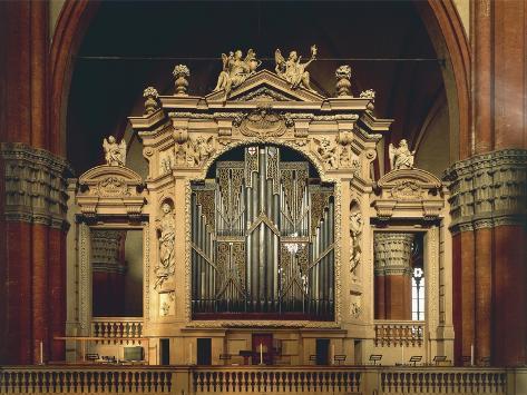 Monument Organ, 1471-1475 Giclée-Druck
