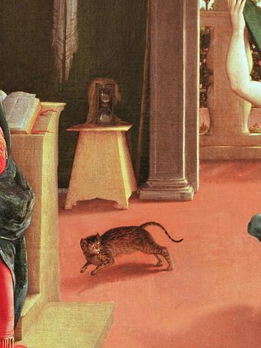 The Annunciation, C.1534-35 Giclée-Druck