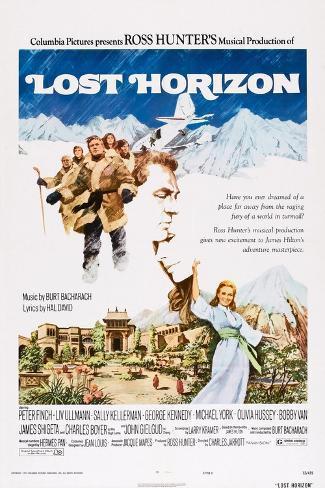Lost Horizon, 1973 Kunstdruck