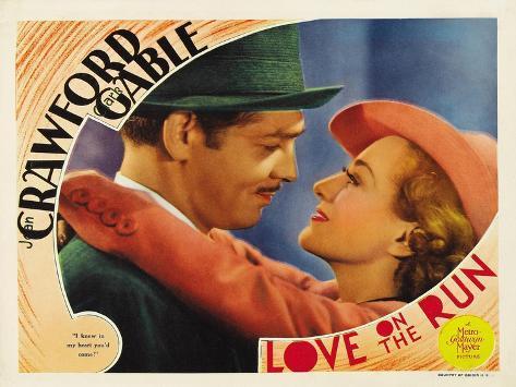 Love on the Run, 1936 Kunstdruck