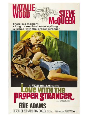 Love With the Proper Stranger, 1964 Giclée-Premiumdruck