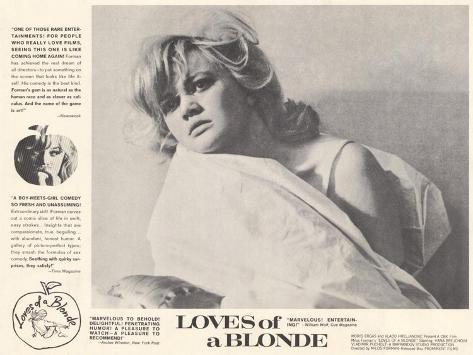 Loves of Blonde, 1967 Kunstdruck