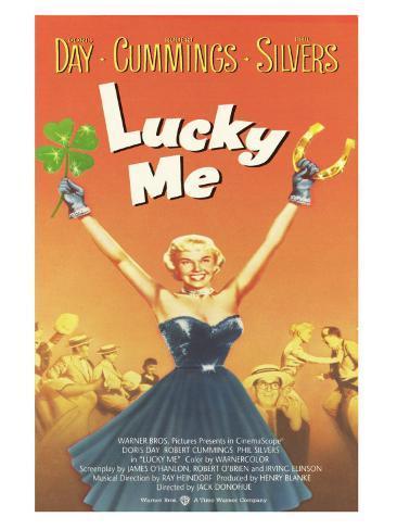 Lucky Me, 1954 Kunstdruck