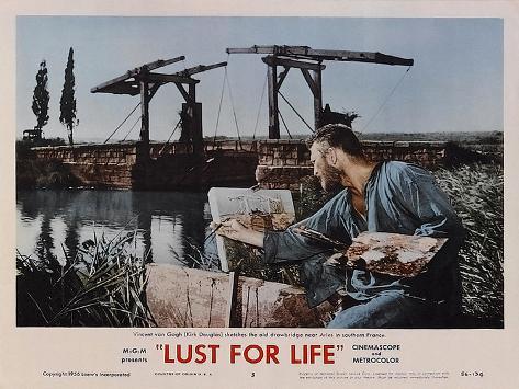 Lust for Life, 1956 Kunstdruck
