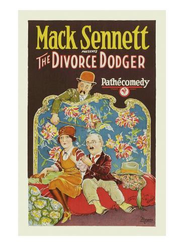 Divorce Dodger Kunstdruck