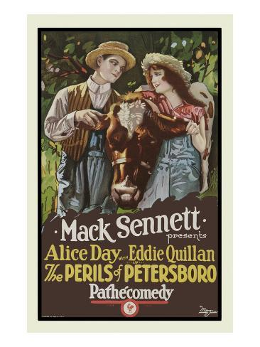 The Perils of Petersboro Giclée-Premiumdruck