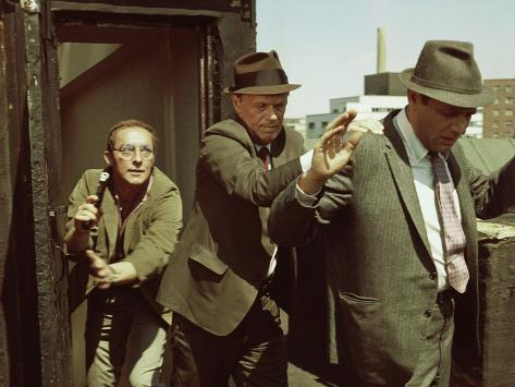 Madigan, Steve Ihnat, Richard Widmark, Harry Guardino, 1968 Foto