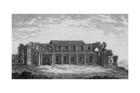 Malmesbury Abbey, Wiltshire Giclée-Druck
