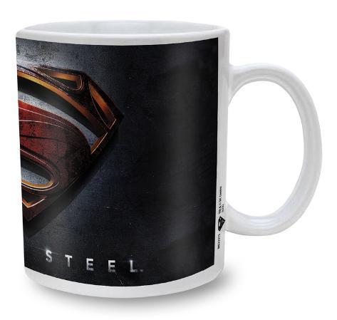 Man Of Steel Mug - 3D Logo ? Becher