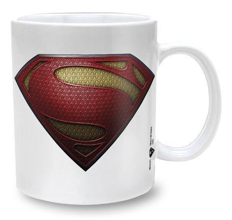 Man Of Steel Mug - Texture ? Becher