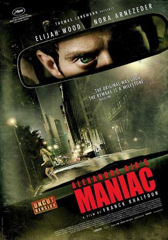 Maniac (Elijah Wood, Nora Arnezeder, America Olivo) Movie Poster Neuheit